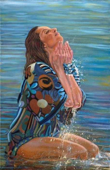 Artist Who Paints People Ideal Nature